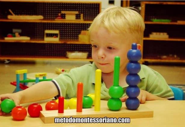 Jogos Montessorianos para crianças