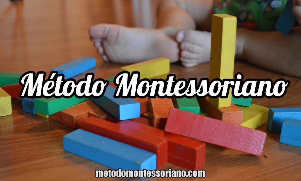 metodologia montessori de educar