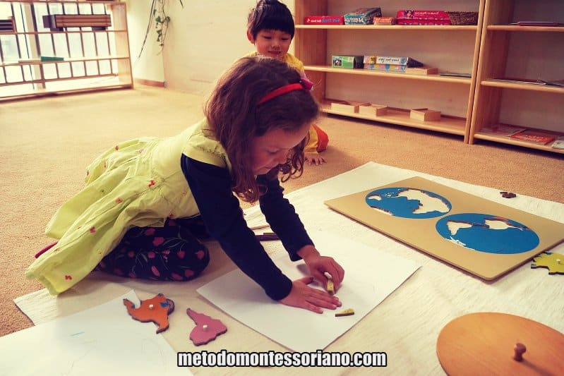 Aprendizado Montessoriano