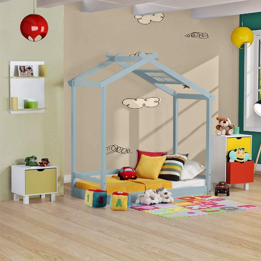 cama montessori casinha