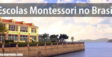 escolas e jardins Montessori no Brasil